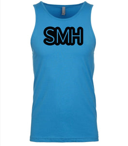 blue smh mens tank top