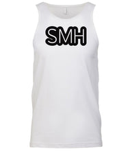 Load image into Gallery viewer, white smh mens tank top