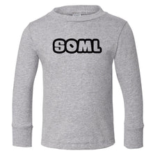 Load image into Gallery viewer, grey SOML long sleeve t shirt for toddlers