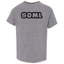 Load image into Gallery viewer, grey SOML crewneck t shirt for toddlers