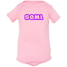 Load image into Gallery viewer, pink SOML onesie for babies