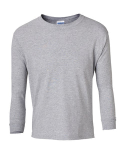 grey youth long sleeve t shirt