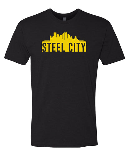 black steel city t-shirt