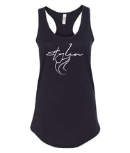 Load image into Gallery viewer, black styling racerback tank top
