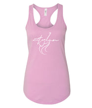 Load image into Gallery viewer, pink styling racerback tank top