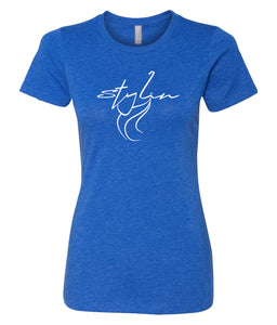 royal stylin crewneck women's tee
