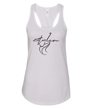 Load image into Gallery viewer, white styling racerback tank top
