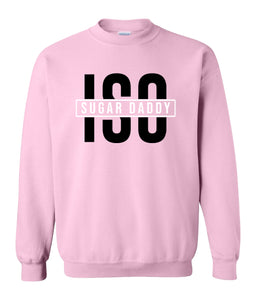 pink sugar daddy sweatshirt