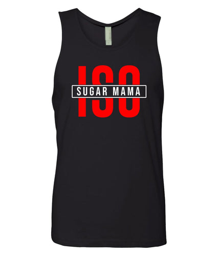 black ISO tank top