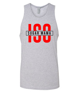 grey ISO tank top