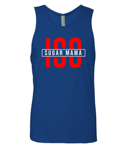 blue ISO tank top