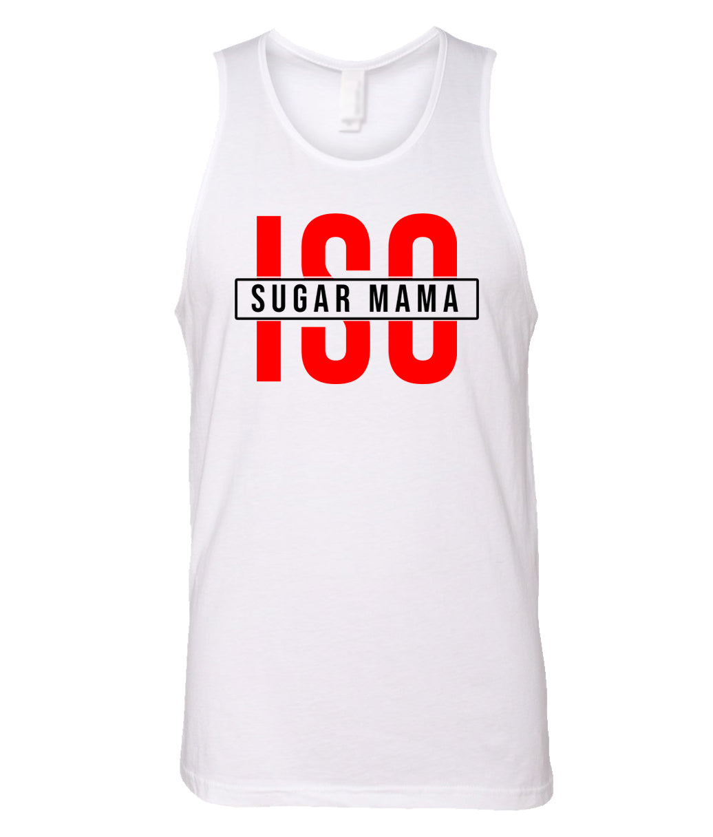 white ISO tank top