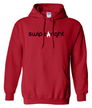Load image into Gallery viewer, red swipe right hoodie