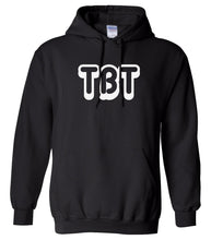Load image into Gallery viewer, black tbt mens pullover hoodie
