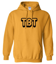 Load image into Gallery viewer, yellow tbt mens pullover hoodie