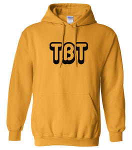 yellow tbt mens pullover hoodie
