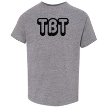 Load image into Gallery viewer, grey TBT crewneck t shirt for toddlers