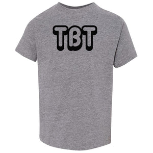 grey TBT crewneck t shirt for toddlers