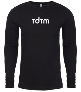 black tdtm mens long sleeve shirt