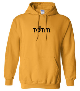 yellow tdtm mens pullover hoodie