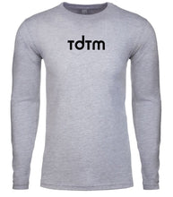 Load image into Gallery viewer, grey tdtm mens long sleeve shirt