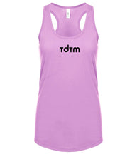 Load image into Gallery viewer, pink TDTM racerback tank top for women