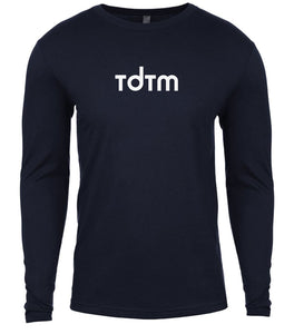 navy tdtm mens long sleeve shirt