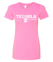 Load image into Gallery viewer, tequila por favor women's t-shirt