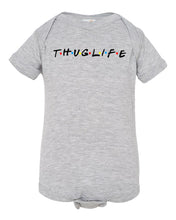 Load image into Gallery viewer, grey thug life baby onesie