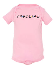 Load image into Gallery viewer, pink thug life baby onesie