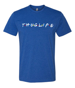 royal thug life crewneck t shirt