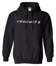 Load image into Gallery viewer, black thug wife hoodie