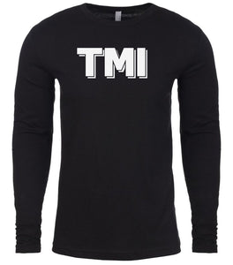 black tmi mens long sleeve shirt