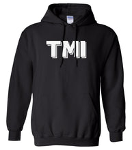 Load image into Gallery viewer, black tmi mens pullover hoodie