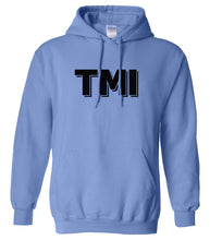 Load image into Gallery viewer, blue tmi mens pullover hoodie