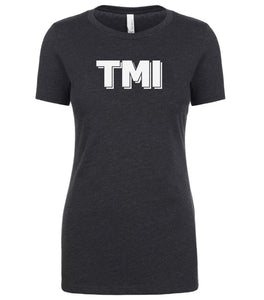 grey tmi womens crewneck t shirt