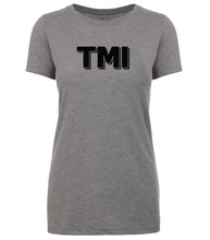 Load image into Gallery viewer, grey tmi women crewneck t shirt