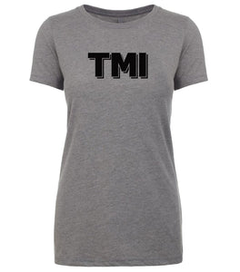 grey tmi women crewneck t shirt
