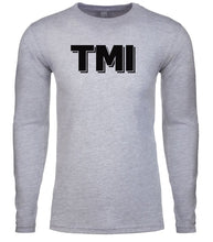 Load image into Gallery viewer, grey tmi mens long sleeve shirt