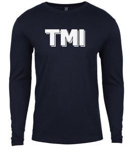 navy tmi mens long sleeve shirt