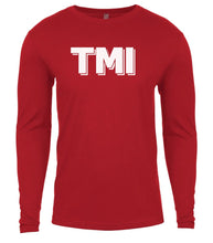 Load image into Gallery viewer, red tmi mens long sleeve shirt