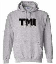Load image into Gallery viewer, grey tmi mens pullover hoodie