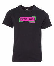 Load image into Gallery viewer, florescent pink trendy neon streetwear t shirt for kids
