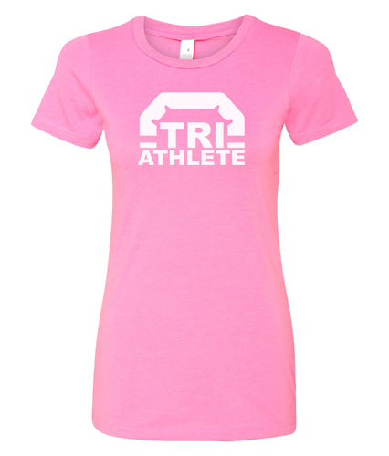 triathlete women's t-shirt