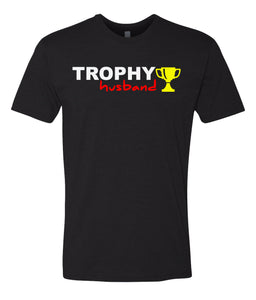 black trophy husband t-shirt