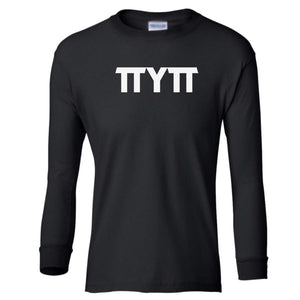 black TTYTT youth long sleeve t shirt for girls