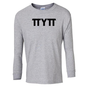 grey TTYTT youth long sleeve t shirt for girls