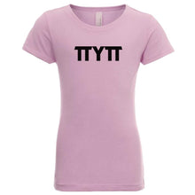 Load image into Gallery viewer, pink TTYTT youth crewneck t shirt for girls