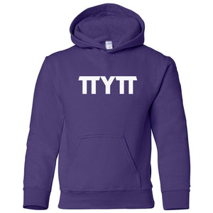 purple TTYTT youth hooded sweatshirts for girls