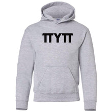 Load image into Gallery viewer, grey TTYTT youth hooded sweatshirt for boys